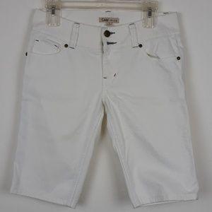 CAbi White Bermuda Shorts size 4